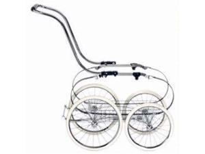 Inglesina AE05A1000 Balestrino Frame With Basket Chrome Blue