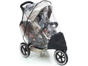 Phil   Teds SPSD Stormy Weather Cover For Sport and Classic Double Stroller