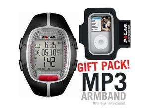 Polar 99039697 RS-300XBK Heart Rate Monitor  Black with MP3 Armband
