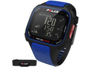 Polar 90050617 - RC3 GPS Heart Rate Monitor Watch - Blue