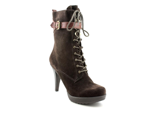 Guess Jirina Womens Size 7.5 Brown Suede Fashion Mid-Calf Boots