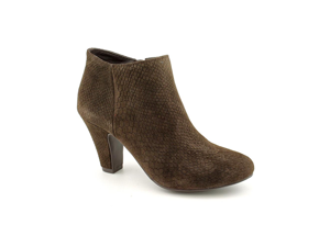 BCBGeneration Dianah Womens Size 6.5 Brown Suede Booties Shoes New/Display