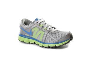 Nike Dual Fusion ST 2 (GS) Youth Girls Size 6 Gray Running Shoes