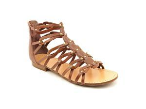 Ivanka Trump Rene Womens Size 7.5 Brown Leather Gladiator Sandals Shoes