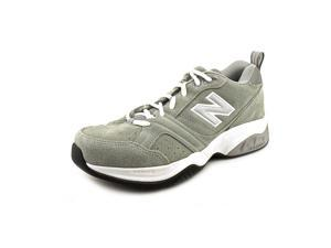 New Balance MX623 Mens Size 8 Gray Leather Cross Training Shoes UK 7.5 EU 41.5