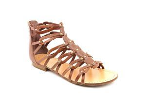 Ivanka Trump Rene Womens Size 9 Brown Leather Gladiator Sandals Shoes