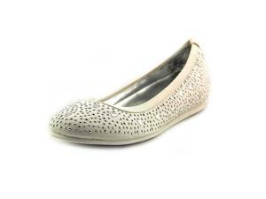 Stuart Weitzman Sally Evelyn Youth Girls Size 12 White Flats Shoes