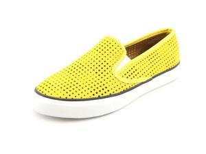 Sperry Top Sider Seaside Perforated Women US 9 Yellow Loafer