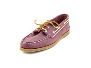 Sperry Top Sider A/O Women US 8 Burgundy Boat Shoe