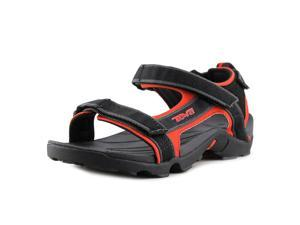 Teva Tanza Jr Youth US 4 Black Sport Sandal