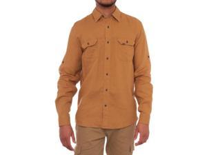 Timberland Earthkeepers Long Sleeve Collared Button Down Men Regular US M Tan