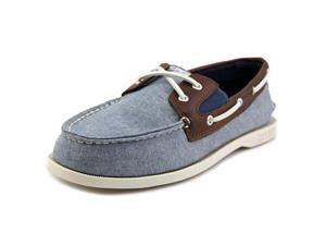 Sperry Top Sider A/O Slip On Youth US 5.5 Blue Boat Shoe
