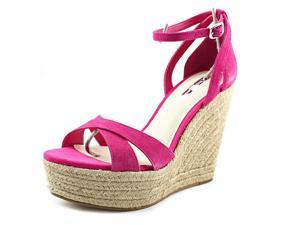 BCBGeneration Holly Women US 10 Pink Wedge Sandal