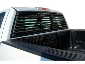 Mach-Speed 32001 Ford F150 ABS Rear Window Louver - 2004-2012 (not Heritage models nor sliding window models)