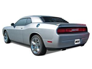 Mach-Speed 23010 Dodge Challenger Coupe ABS Rear Window Louver - 2008-2012