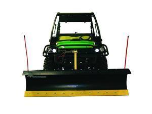"SnowBear 324-110 Personal Snow Plow with a 72"" Blade for UTV with Receiver Hitch"