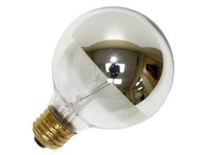Westinghouse 03155 - 25G25/CH Silver Bowl Light Bulb