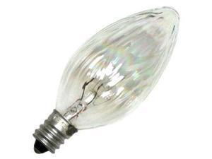 GE 48394 - 15FC/AU F10 Decor Flame Tip Light Bulb
