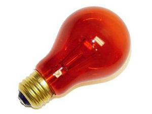Westinghouse 03443 - 25A19/TA Standard Transparent Colored Light Bulb