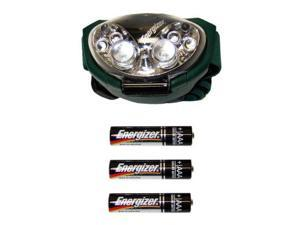 Energizer-Eveready 03096 - Trailfinder 6 LED Headlight (Batteries Included) (HDL33AODE)