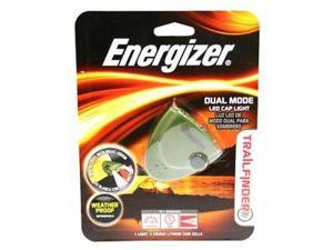 Energizer-Eveready 10785 - Green Trailfinder Dual Mode Weather Proof LED Cap Light Flashlight (TFCAPR2B)