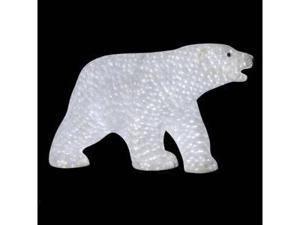 "Vickerman 29917 - 27"" x 49"" x 22"" Male Polar Bear 1900LED (X127234) Lighted Sculptures"