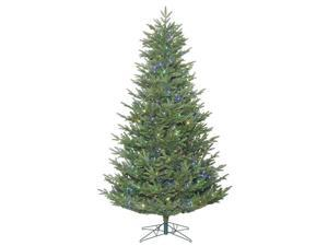 "Vickerman 411315 - 8.5' x 63"" Medium Deluxe Frasier Fir Tree with 800 Multi Color LED Lights Christmas Tree (G162282LED)"