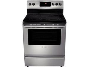 "30"" Freestanding Electric Range with 5 Radiant Elements, 5.4 cu. ft. Self Cleaning Oven, Stainless Steel, 100W Warming Zone ..."