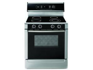 "30"" standing Electric Range with Genuine European 3rd Element Convection, Concealed Bake Element, Full Extension Warming ..."