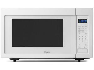 1.6 cu. ft. Countertop Microwave with 1,200 Watts, Sensor Cooking and 10 Power Levels: White