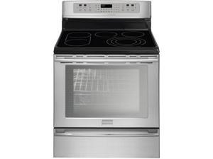 "30"" Freestanding Electric Range with 5 Radiant Elements, Bridge Element, 6.0 cu. ft. PowerPlus Convection Oven, Self-Clean ..."