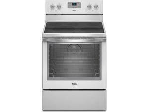 "30"" standing Smoothtop Electric Range with 4 Radiant Elements, Warm Zone, 6.2 cu. ft. TimeSavor Convection Oven, Self-Cleaning ..."