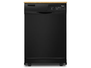 Portable Full Console Dishwasher with 3 Wash Cycles, 12 Place Setting Capacity, Tall Tub, Auto Soil Sensor, Quiet Partner ...
