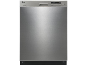 Semi-Integrated Dishwasher with 5 Wash Cycles, 2 Spray Arms, 50dB LoDecibel Quiet Operation, NeveRust Stainless Steel Tub ...