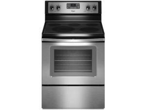 "30"" standing Electric Range with 5 Smoothop Burners, 5.3 cu. ft. Oven Capacity, Steam Clean Option, Convection Bake, Hidden ..."