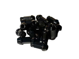 Password:JDM Aluminum Lug Nuts V.2 (Extended Close End) 12x1.5 [16 PIECE BLACK] PasswordJDM