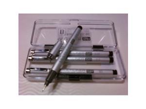 Set of 4 - Copic Multiliner Black SP Set B COPIC