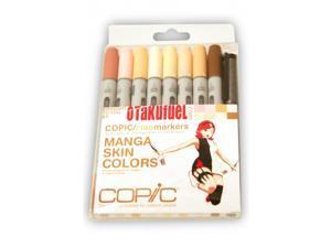 Copic Ciao Manga Kit - Skin Tone Colors Marker Set [Otakufuel/Hime Package] COPIC