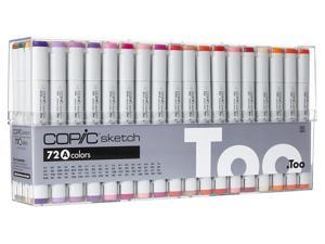 * * Copic Sketch Markers: 72 Color Set A COPIC
