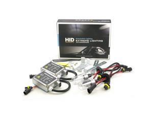 ApolloX H4 5000k High/Low Beam Xenon Light HID Conversion Kit