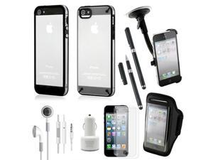 10 in 1 Accessories Bundle Sports/Business Travel Combo For iPhone 5