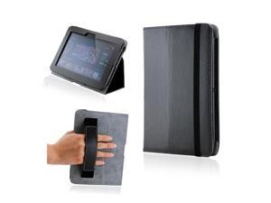 Kindle fire HD Black Magnetic Microfiber Leather Case w/Smart Cover Handheld Belt Stylus Holder