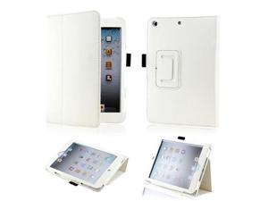White Magnetic PU Leather Folio Stand Case Smart Cover Stylus Holder for iPad Mini and 2013 iPad Mini with Retina Display