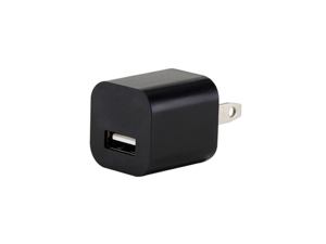 Black Universal AU Plug AC USB Power Home Travel Wall 1A Charger Adapter 1000ma