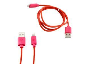 8-pin to USB Lightning Fabric Braided Charger Sync Cord Cable 3 ft for Apple® iPhone® 5 iPad 4 iPad Mini iPod Touch 5 - Hot ...