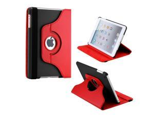 Gearonic ™ Chicago / Miami / Portland 360 Degree Rotating PU Leather Case Smart Cover With Swivel Stand for Apple iPad Mini ...