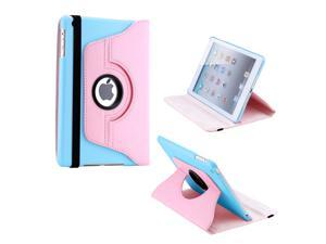 Gearonic ™ 360 Degree Rotating PU Leather Case Smart Cover With Swivel Stand for Apple iPad Mini 2 w/ Retina Display - Pink ...