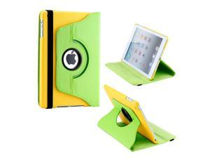Gearonic ™ 360 Degree Rotating PU Leather Case Smart Cover With Swivel Stand for Apple iPad Mini 2 w/ Retina Display - Green ...