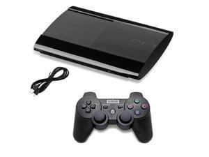 Sony PlayStation 3 250GB Console Black + NEXILUX Wireless PS3 Matte Black Controller