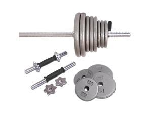 CAP Barbell Standard Grey 110-lb. Weight Set - OEM